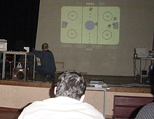 Hockey mania - game presentation